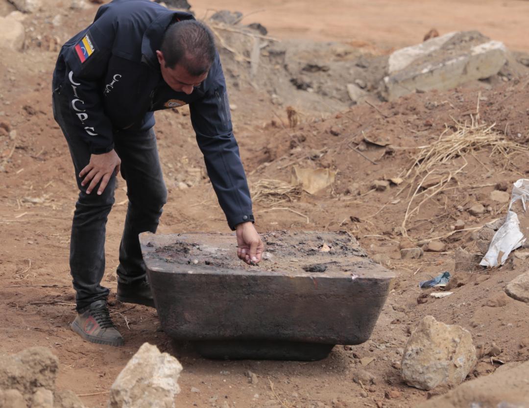 Incautadas más de mil toneladas de material estratégico sustraído del SEN en Bolívar (18)