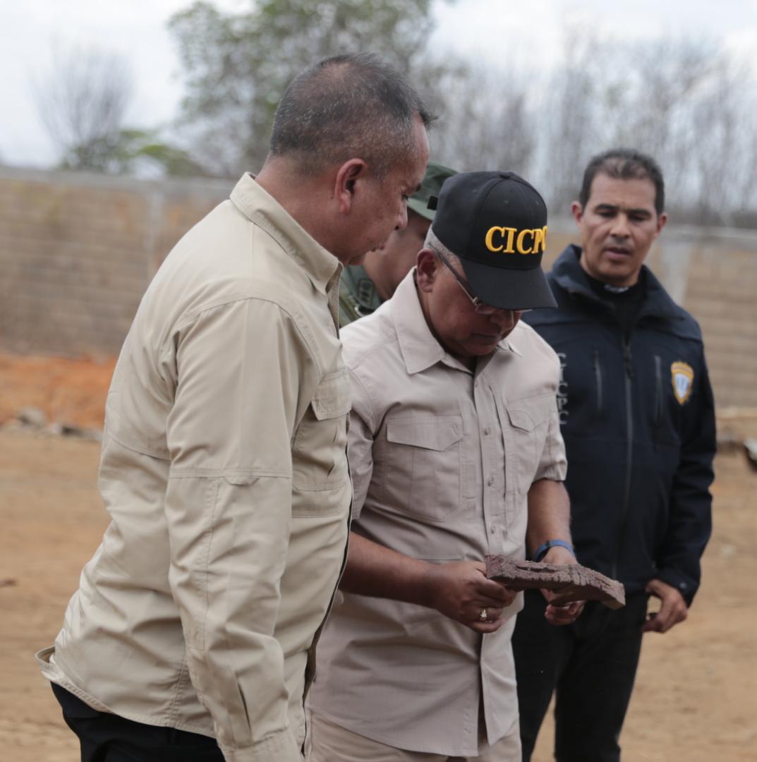 Incautadas más de mil toneladas de material estratégico sustraído del SEN en Bolívar (5)