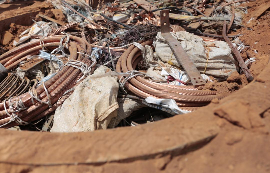 Incautadas más de mil toneladas de material estratégico sustraído del SEN en Bolívar (8)