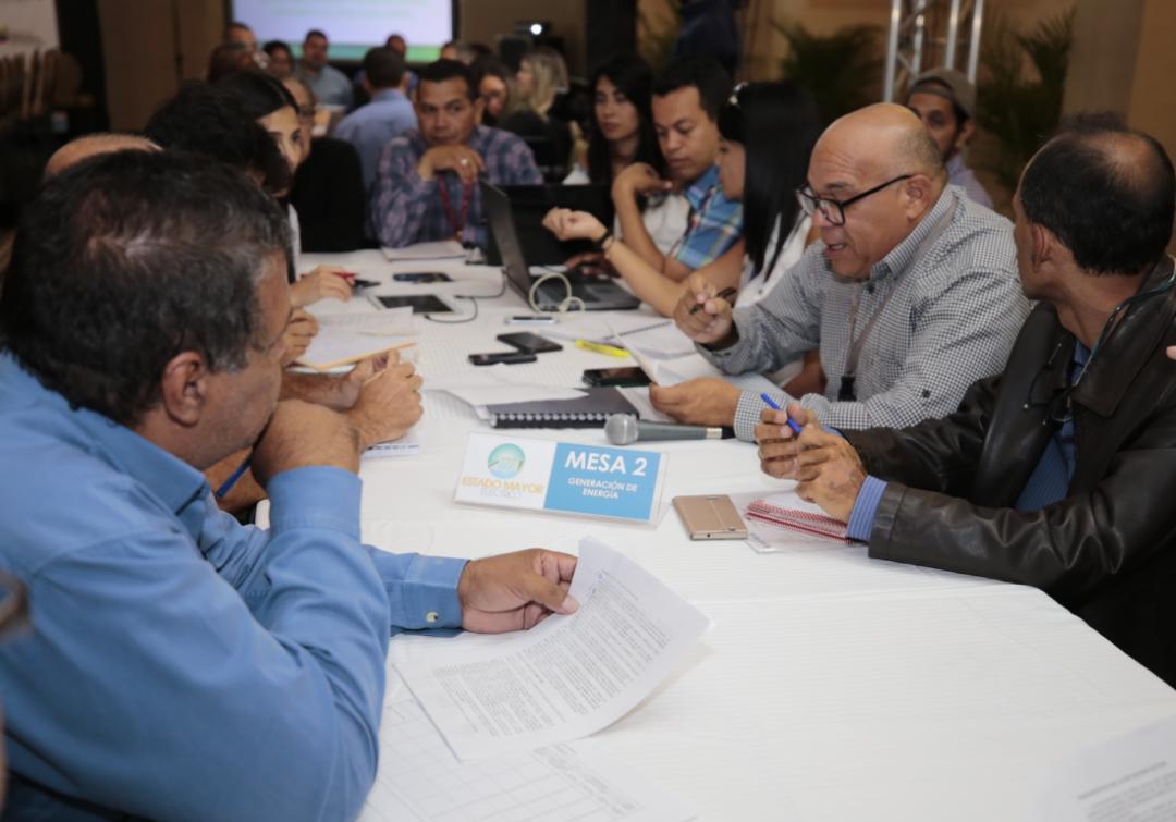 Instaladas mesas de trabajo para diseñar plan de reimpulso del Sistema Eléctrico Nacional (8)