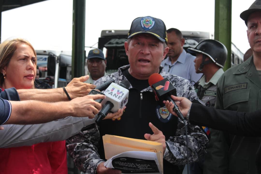 Más de 3 mil 800 funcionarios participan en operativo Semana Santa Segura en Guárico (2)