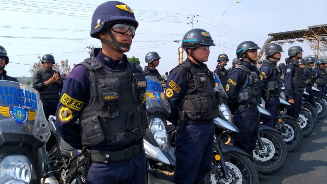 Más de 9 mil funcionarios activos en Carabobo durante Semana Santa Segura 2019 (10)