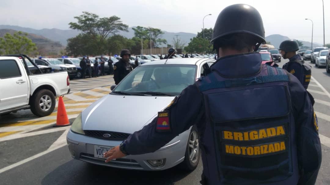 Más de 9 mil funcionarios activos en Carabobo durante Semana Santa Segura 2019 (2)