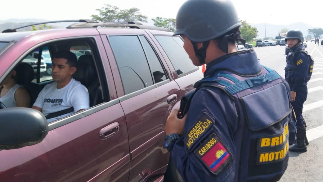 Más de 9 mil funcionarios activos en Carabobo durante Semana Santa Segura 2019 (4)