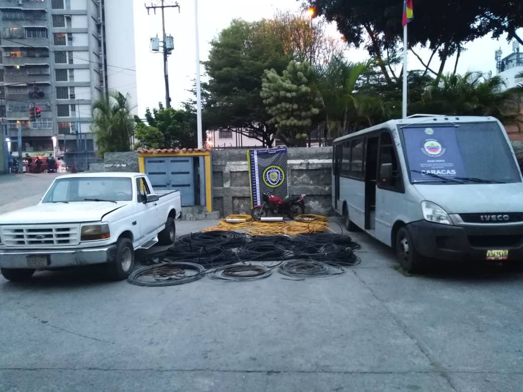 PNB incautó más de 700 kilos de material estratégico en Caracas y Falcón (1)