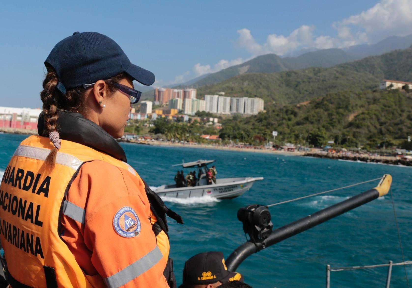 Sistema Nacional del Riesgo supervisa puntos de atención instalados en la isla de Coche