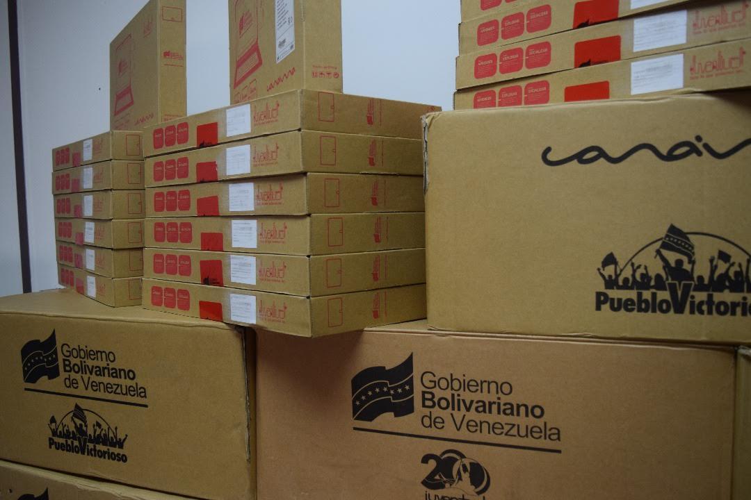 Cicpc recuperó 430 tablet Canaimas que habrían sido robadas de Inpsasel