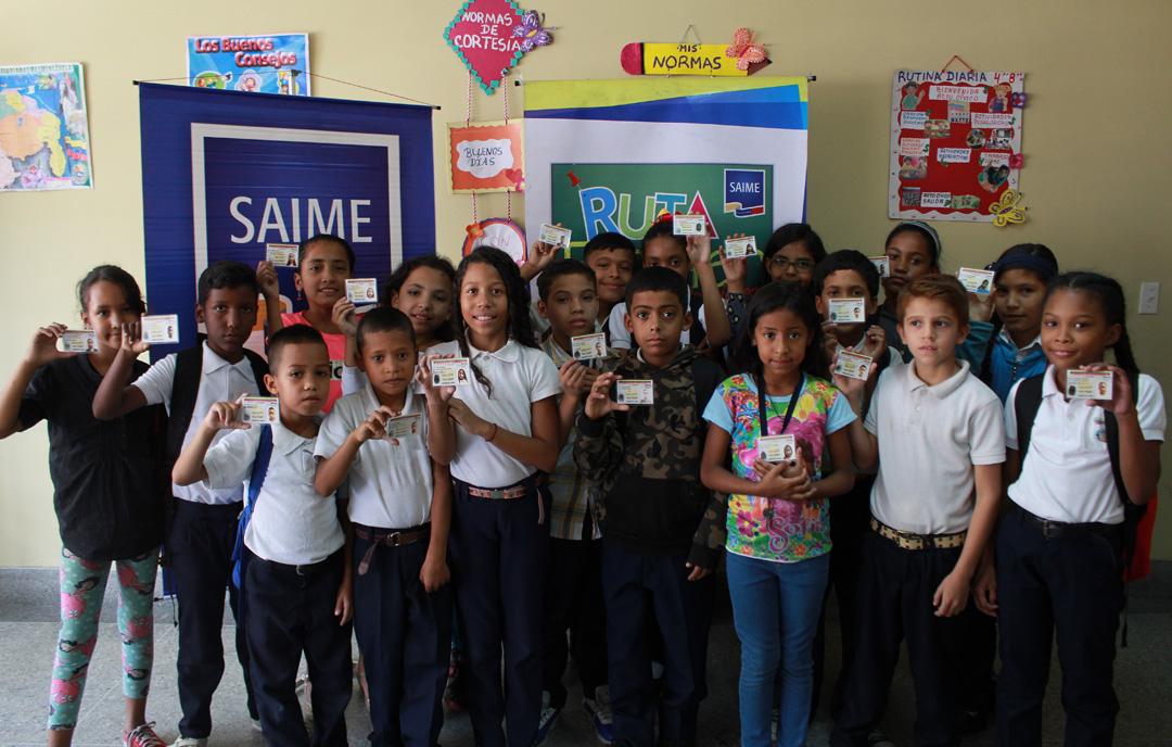Cedulados 393 niños, niñas y adolescentes en despliegue de la Ruta Escolar en parroquia Coche