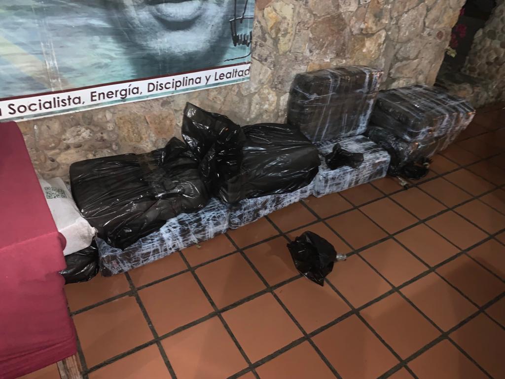 Desarticulan banda que traficaba 323 kg de droga entre marihuana y cocaína en Sucre (4)