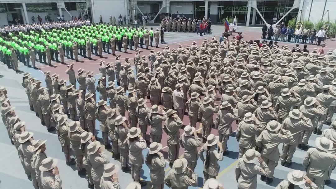Más de 7 mil aspirantes inician primer curso de Formación de Combatientes de Incendios Forestales y Guardaparques (37)