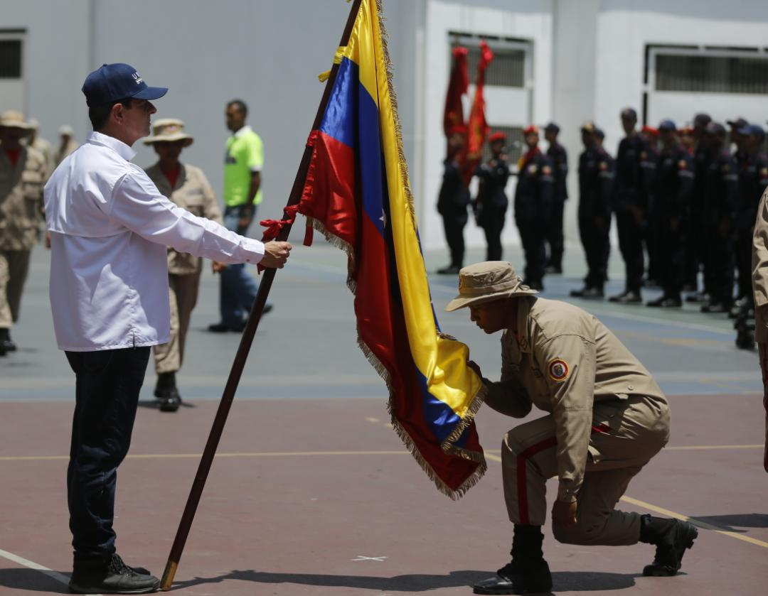 Más de 7 mil aspirantes inician primer curso de Formación de Combatientes de Incendios Forestales y Guardaparques (7)