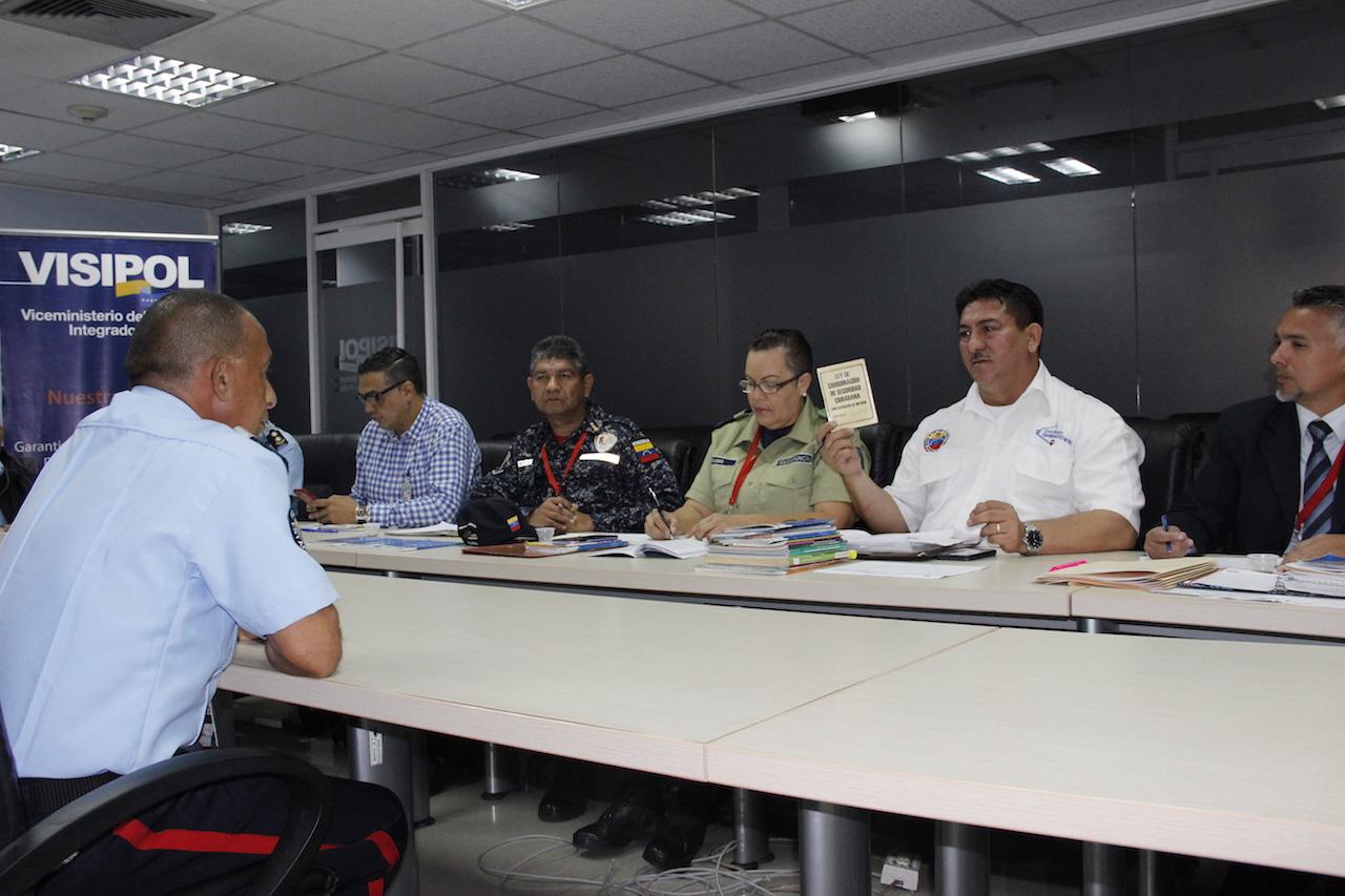 Mpprijp inicia proceso de entrevistas para ascensos al nivel estratégico de la carrera policial (5)