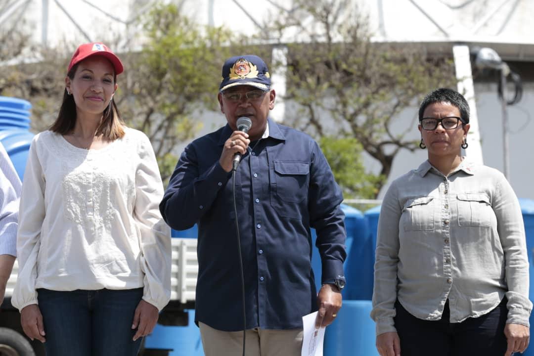 Gobierno nacional prevé reactivar estructuras para bombeo de agua en la Gran Caracas
