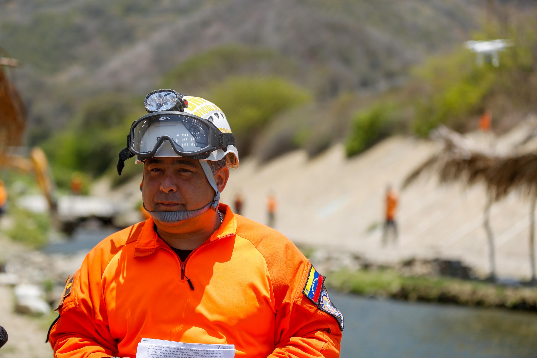 Protección Civil Nacional realizó inspección de obras de mitigación de riesgo en Vargas (6)