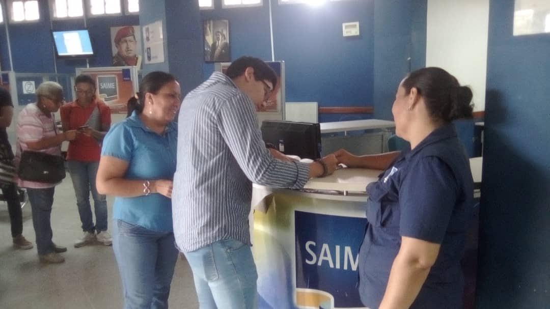 Saime – Monagas ha emitido más de tres mil documentos de identidad durante el mes de mayo