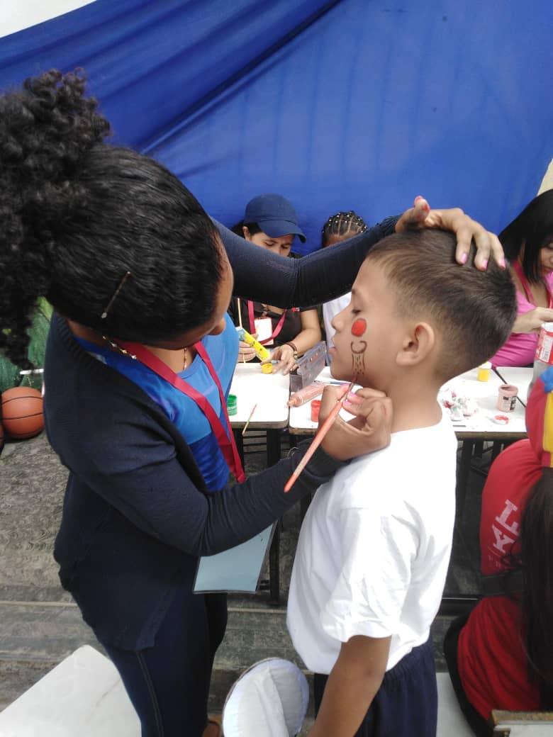 Senades promueve caminata infantil por la paz y el desarme en La Vega (3)