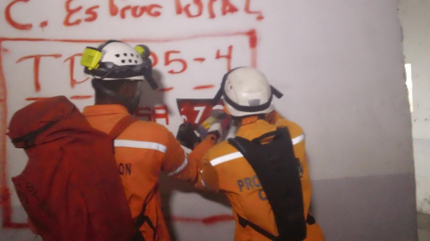 Unidad k-sar realiza prácticas para fortalecer capacidades de búsqueda y rescate (5)