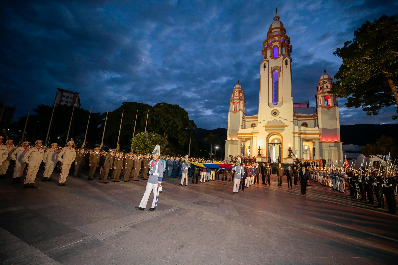 Acto con motivo al 198 aniversario de la Batalla de Carabobo y día del Ejército (1)