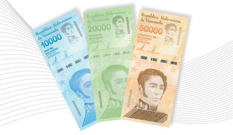 Tres nuevos billetes se incorporan al Cono Monetario vigente