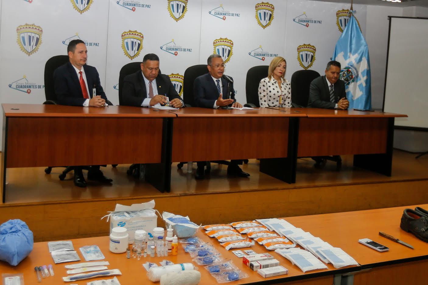 Incautados más de 100 insumos médicos hurtados del Hospital J.M. de Los Ríos