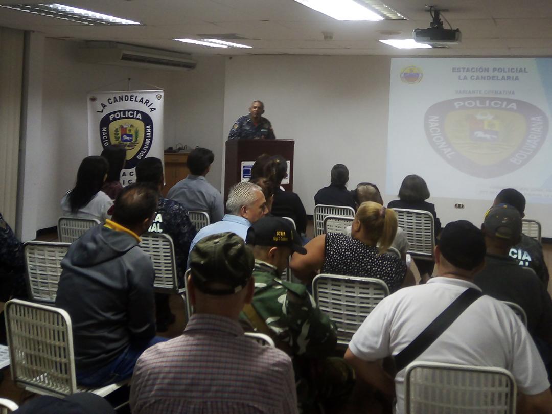 PNB reduce un 95% de incidencia delictiva en la parroquia La Candelaria