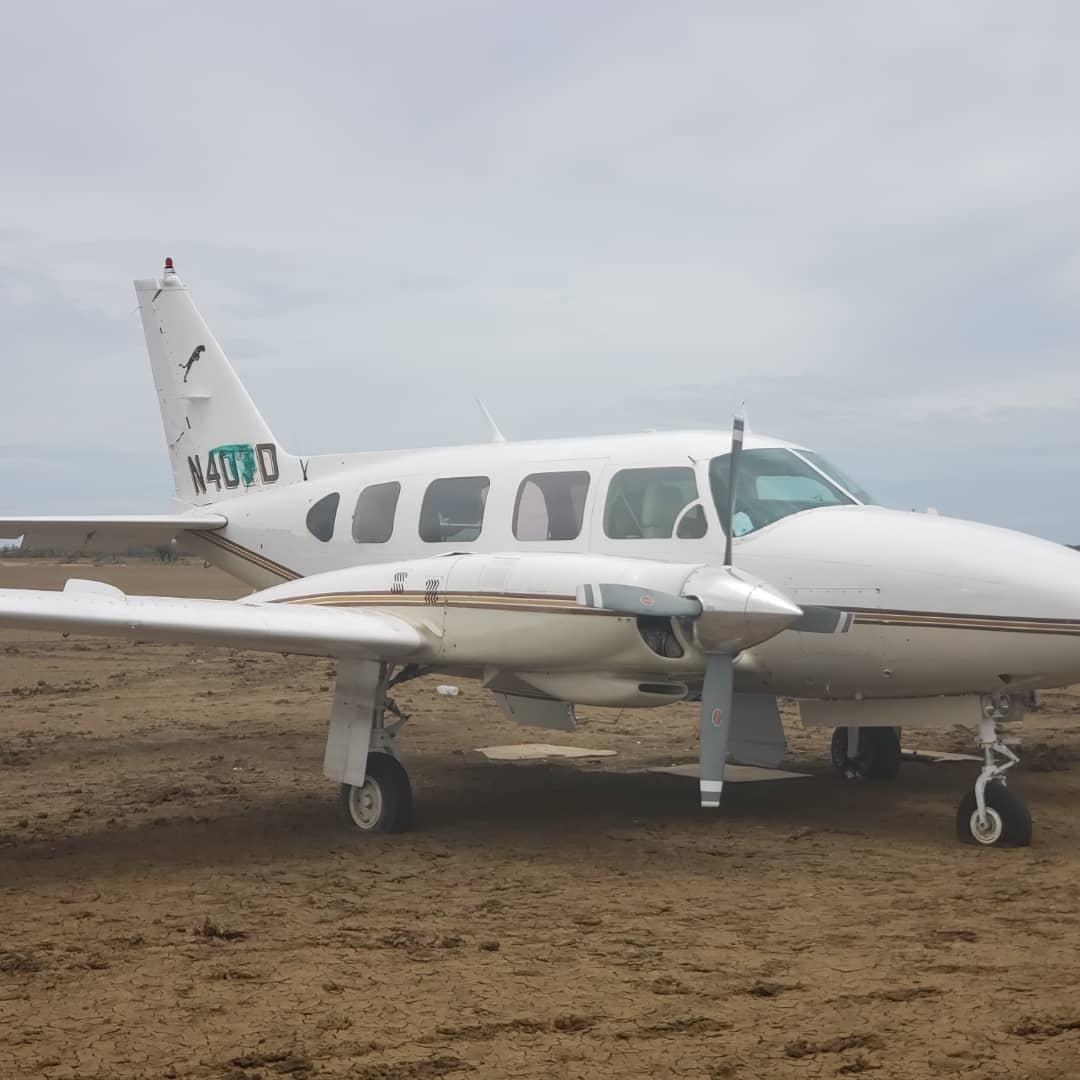 Incautada aeronave estadounidense con 125 panelas de cocaína en el estado Falcón (1)