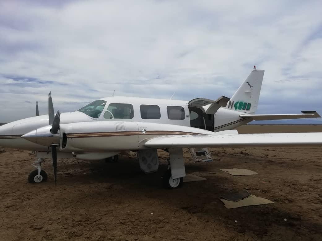 Incautada aeronave estadounidense con 125 panelas de cocaína en el estado Falcón (2)