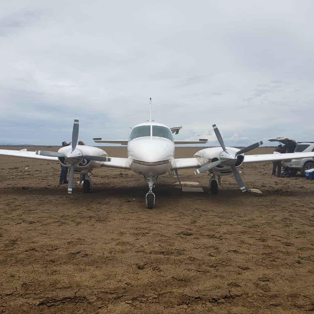 Incautada aeronave estadounidense con 125 panelas de cocaína en el estado Falcón (8)
