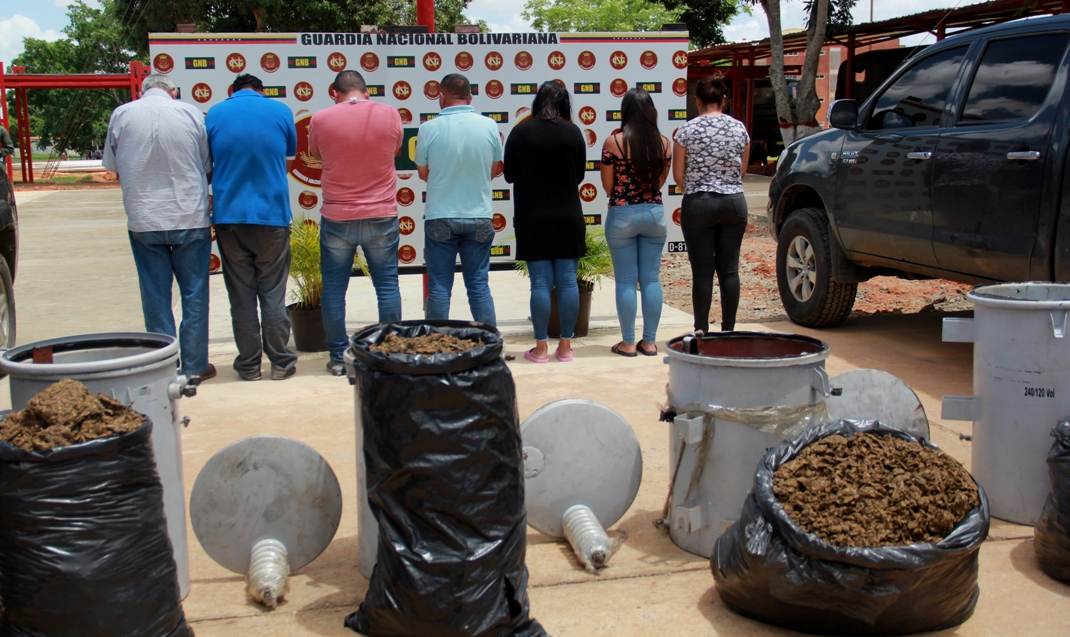 Incautados 182,77 kilogramos de marihuana ocultos en cuatro transformadores eléctricos en Anzoátegui (10)