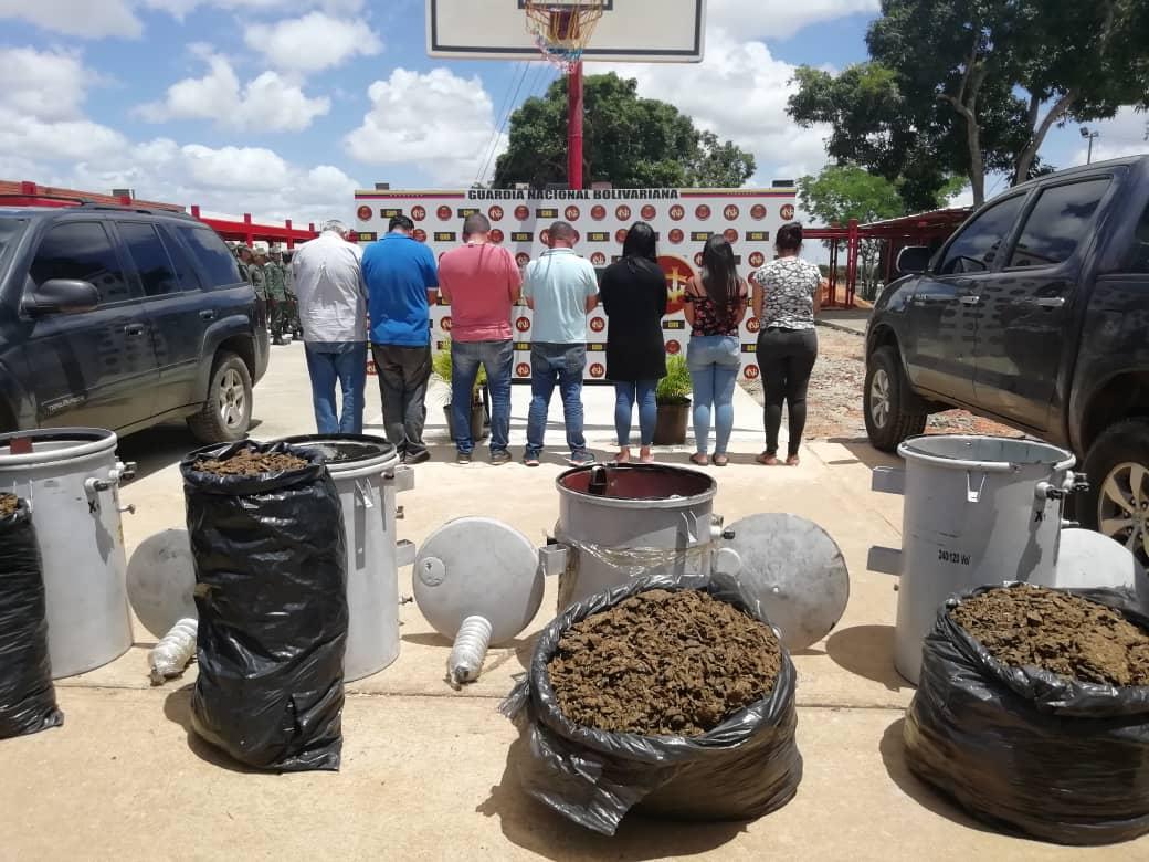 Incautados 182,77 kilogramos de marihuana ocultos en cuatro transformadores eléctricos en Anzoátegui (12)