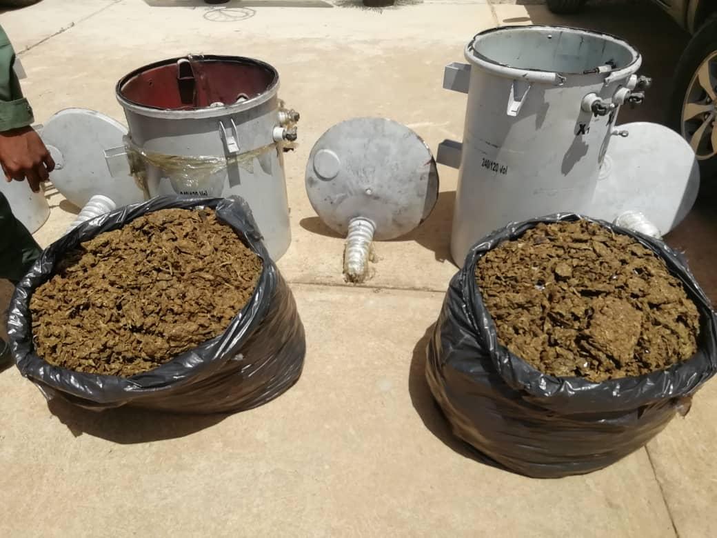 Incautados 182,77 kilogramos de marihuana ocultos en cuatro transformadores eléctricos en Anzoátegui (13)