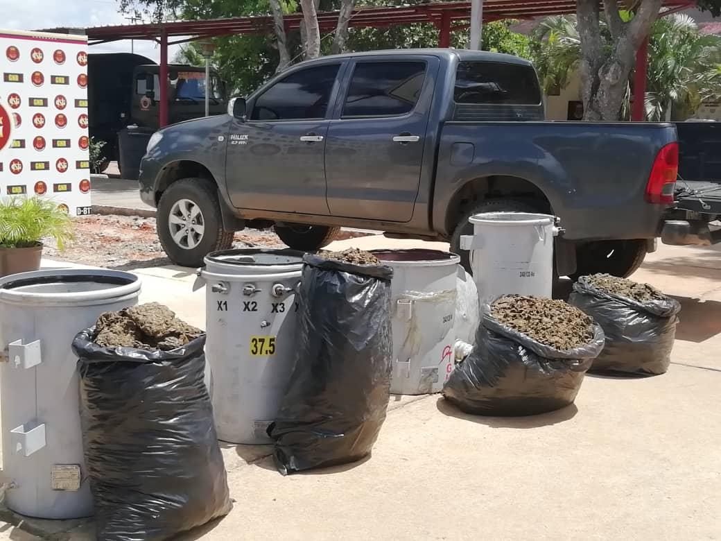 Incautados 182,77 kilogramos de marihuana ocultos en cuatro transformadores eléctricos en Anzoátegui (15)