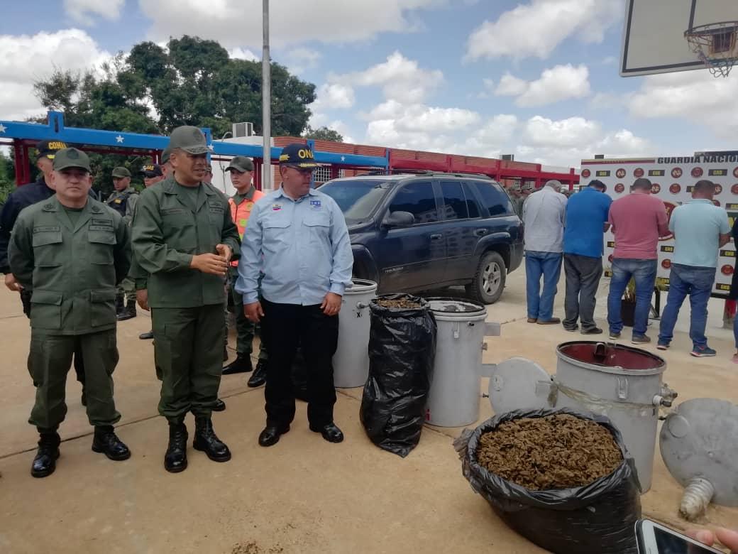 Incautados 182,77 kilogramos de marihuana ocultos en cuatro transformadores eléctricos en Anzoátegui (7)