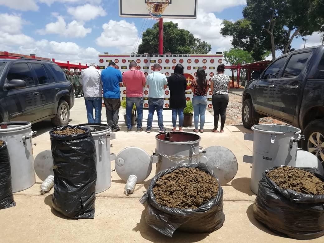 Incautados 182,77 kilogramos de marihuana ocultos en cuatro transformadores eléctricos en Anzoátegui (8)