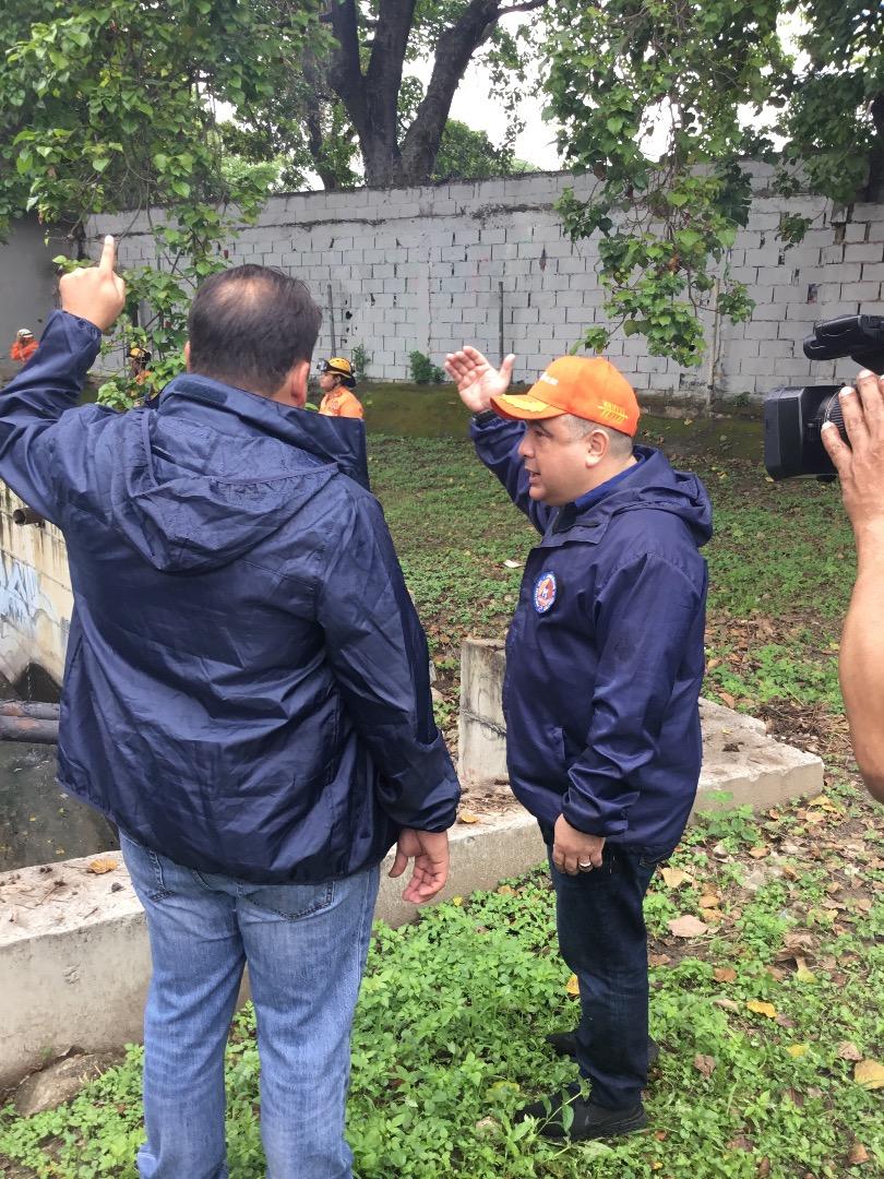 Protección Civil supervisa mantenimiento preventivo en quebrada Agua de Maíz en Miranda (3)