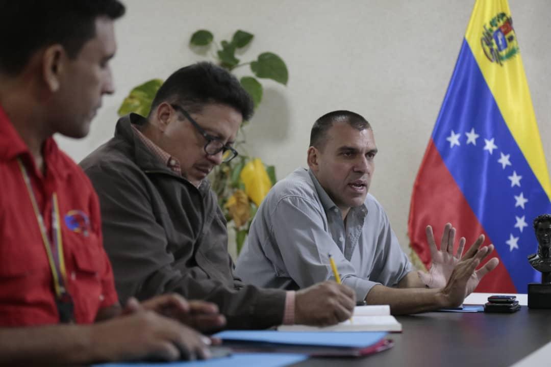 Vicepresidente Reverol Mesa técnica de cauchos georreferenciará su producción en el país (1)