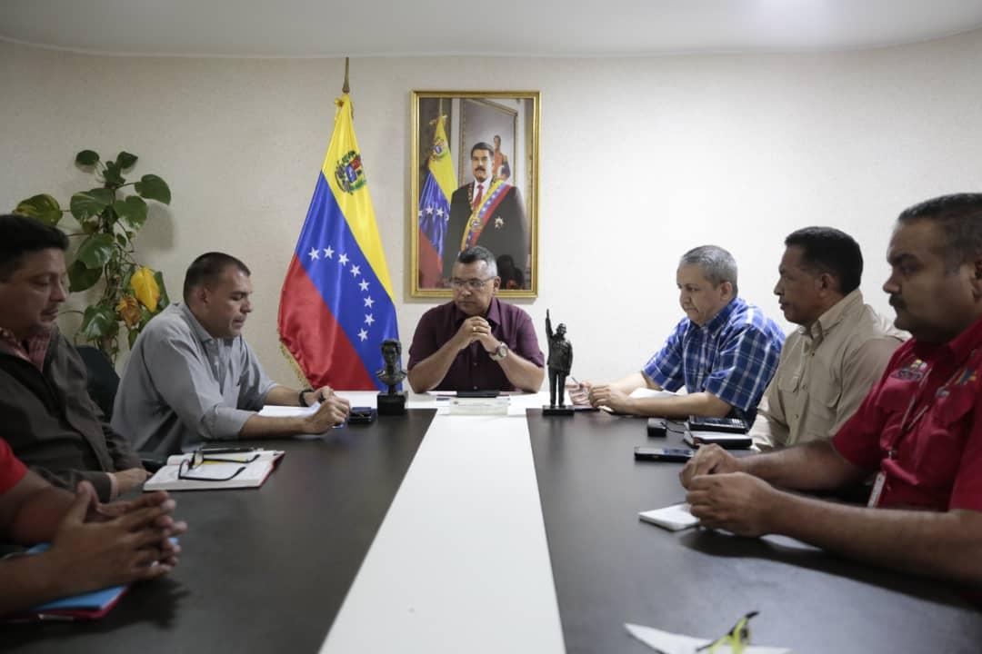 Vicepresidente Reverol Mesa técnica de cauchos georreferenciará su producción en el país (3)