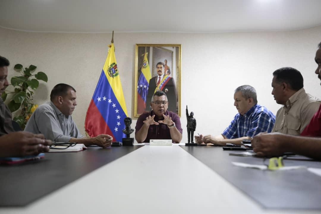 Vicepresidente Reverol Mesa técnica de cauchos georreferenciará su producción en el país (4)