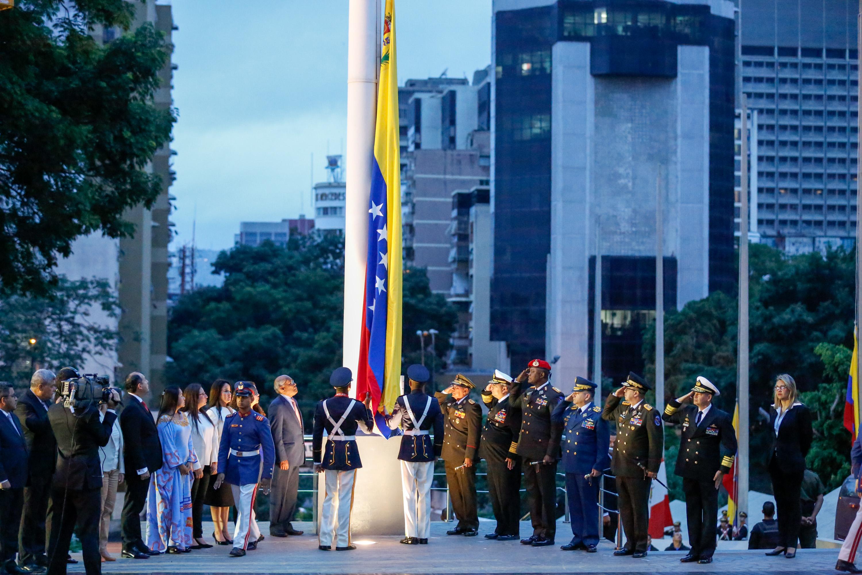 Gobierno nacional rindió honores a Simón Bolívar, El Libertador a 236 años de su natalicio (11)