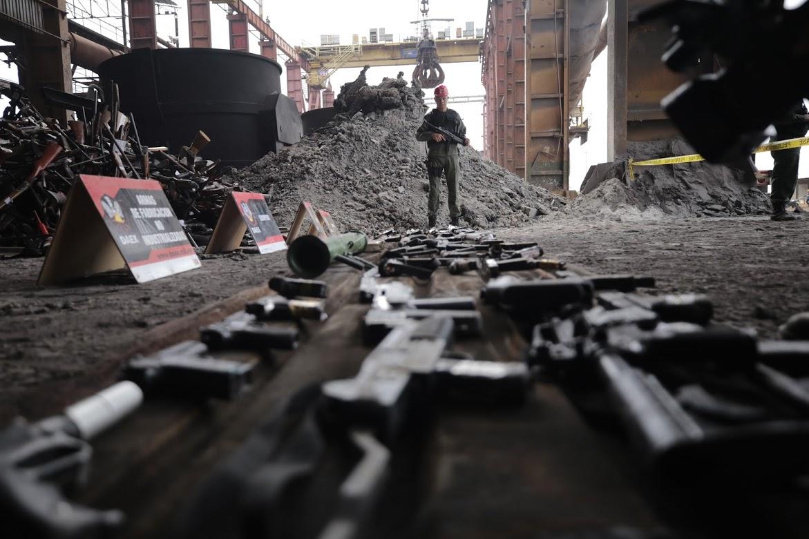 INUTILIZACIÓN Y DESTRUCCIÓN DE ARMAS DE FUEGO (5)