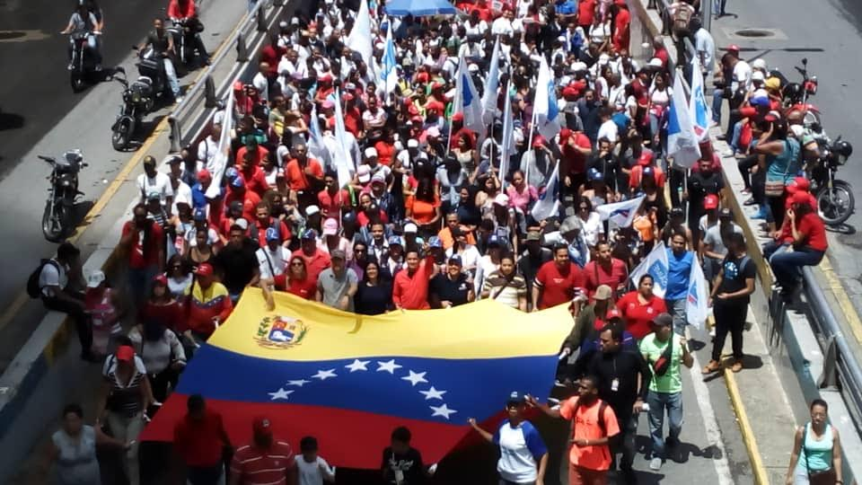 Mprrijp marchó en rechazo al informe de Bachelet (1)