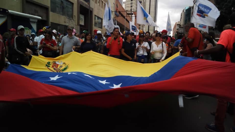 Mprrijp marchó en rechazo al informe de Bachelet (3)