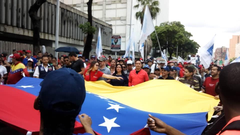 Mprrijp marchó en rechazo al informe de Bachelet (4)