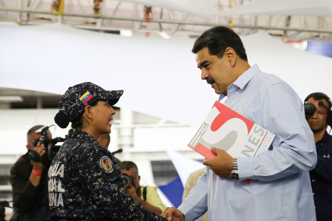 Nicolás Maduro La PNB trabaja de la mano con el pueblo en los Cuadrantes de Paz (16)