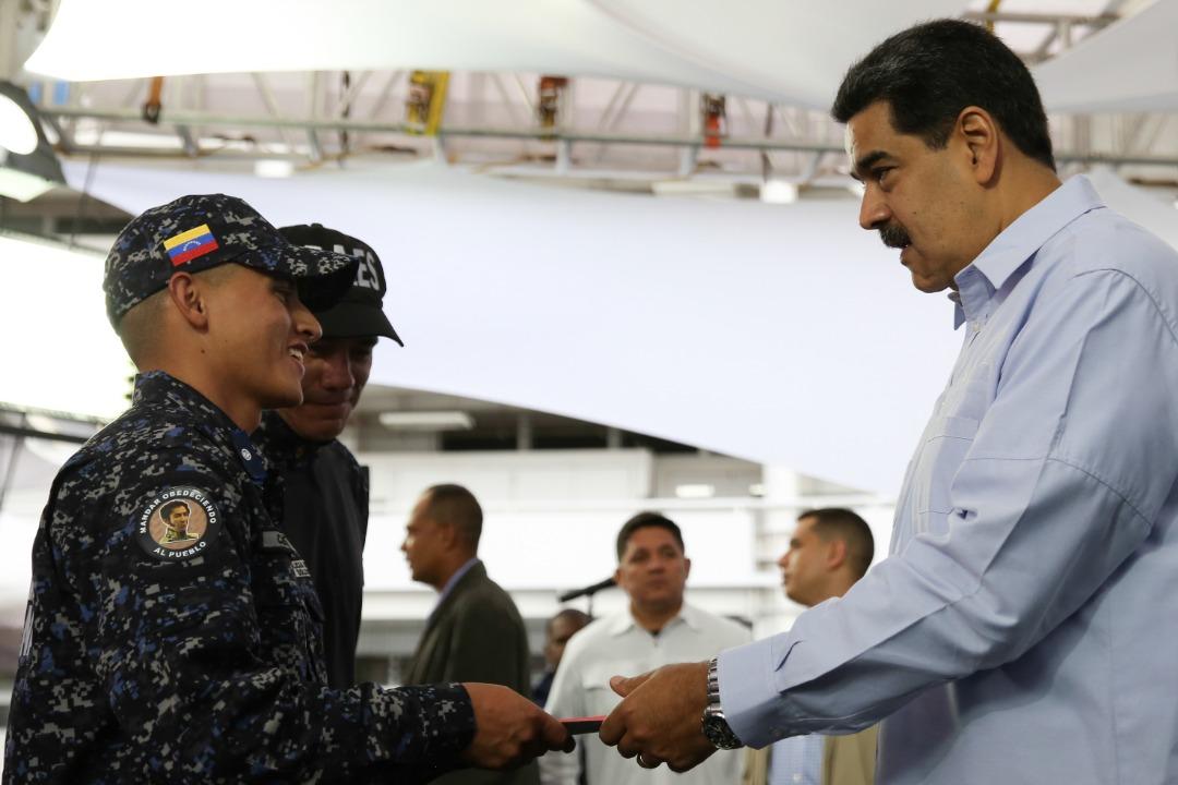 Nicolás Maduro La PNB trabaja de la mano con el pueblo en los Cuadrantes de Paz (18)