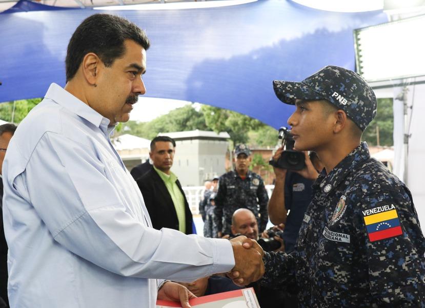 Nicolás Maduro La PNB trabaja de la mano con el pueblo en los Cuadrantes de Paz (20)