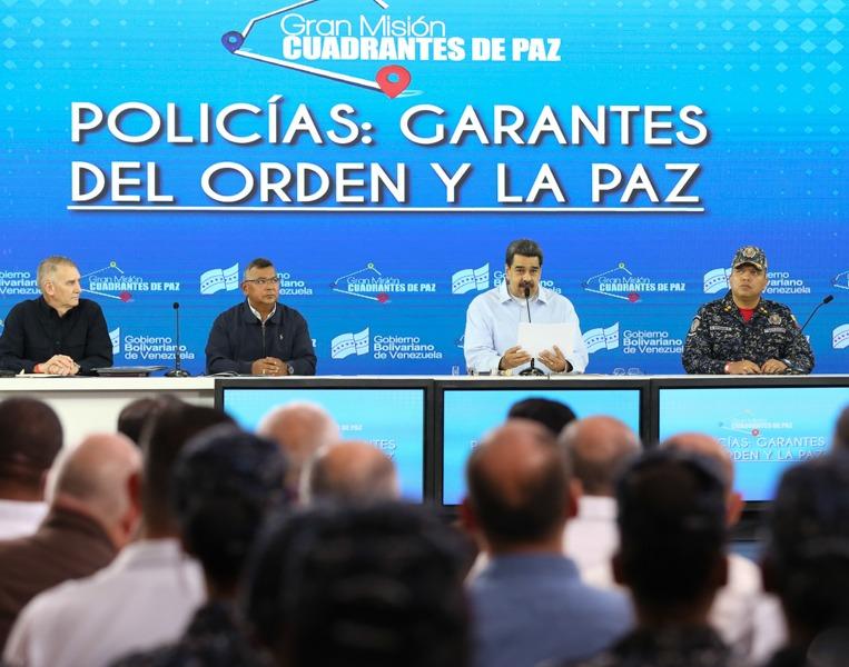 Nicolás Maduro La PNB trabaja de la mano con el pueblo en los Cuadrantes de Paz (24)