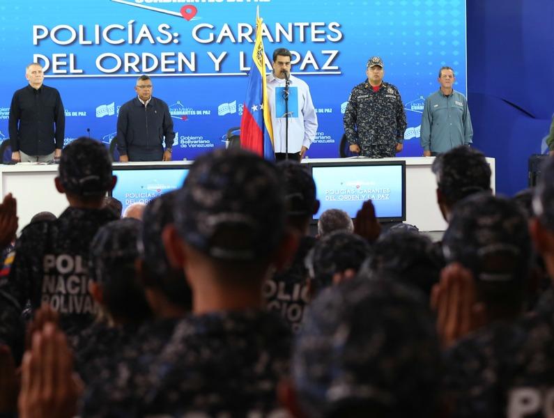 Nicolás Maduro La PNB trabaja de la mano con el pueblo en los Cuadrantes de Paz (6)