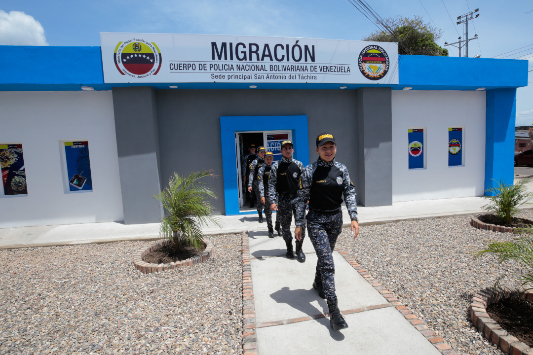 Policía Migratoria en el estado Táchira (7)
