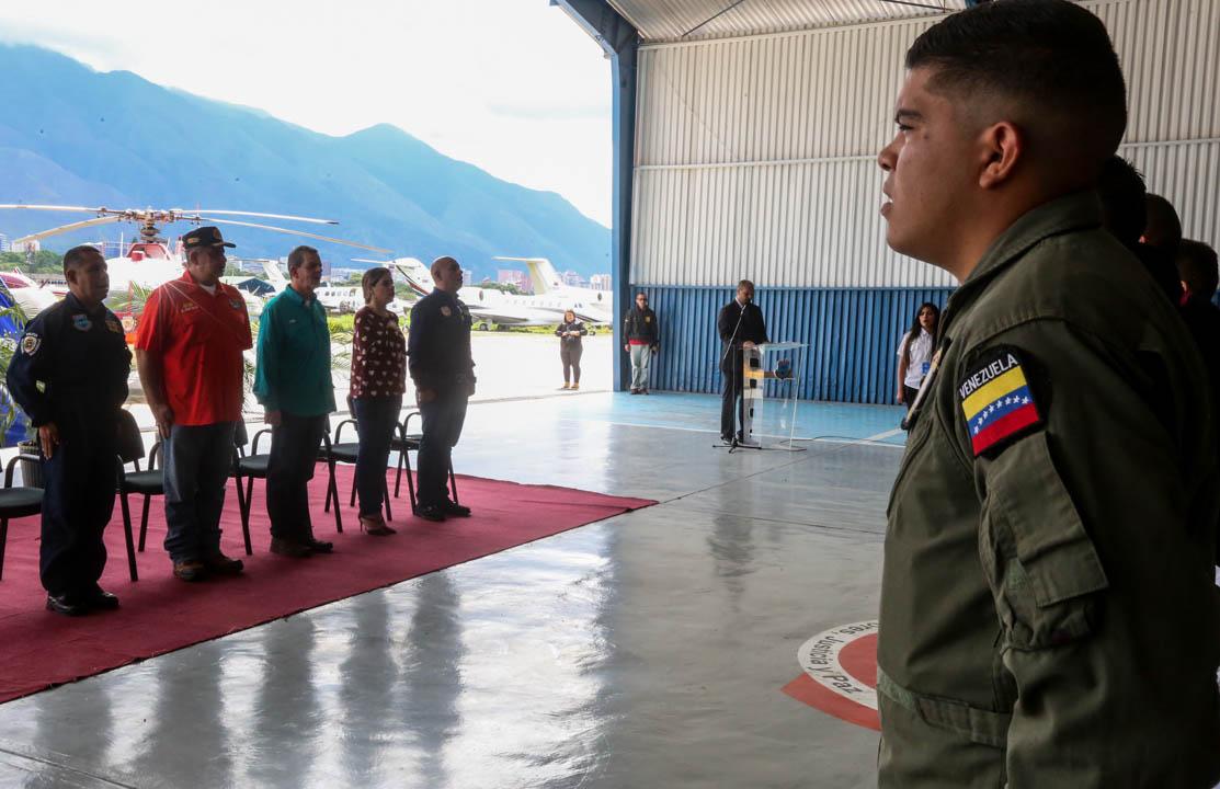Certificados como Auxiliar de Vuelo funcionarios de diferentes órganos de seguridad del país (4)